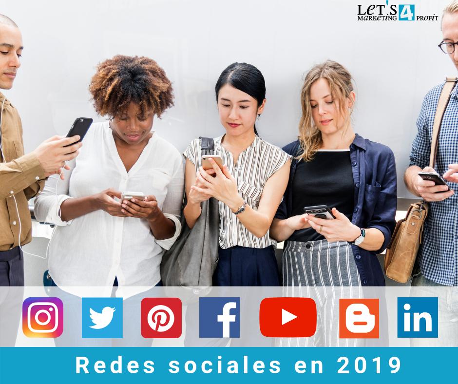 Situación de las redes sociales en 2019